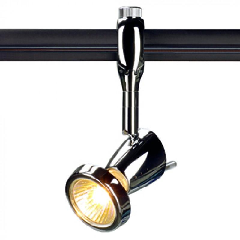 Jcc Track Lighting Pendant: SLV 185092 Siena 50W Chrome Easytec II 240V Track Light