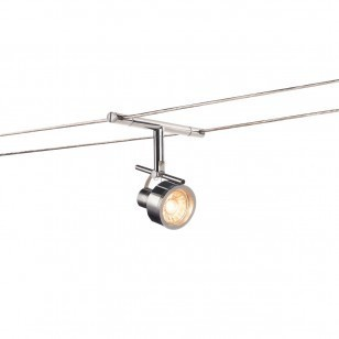 Chrome Wire Track Lights