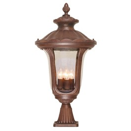 Outdoor Pedestal Lanterns