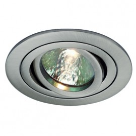 SLV 111447 Tria 2 35W Satin Nickel Downlight