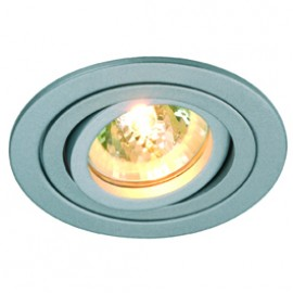 SLV 111449 Tria 2 35W Silver Grey Downlight
