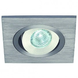 SLV 111870 Lelex 1 LED 1W 4000K Brushed Aluminium Downlight