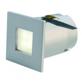 SLV 112712 Mini Frame LED 0.3W 3500K Silver Grey Guide Light