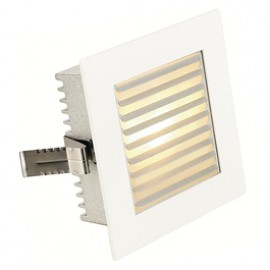 SLV 112761 Flat Frame Slat 20W White Guide Light
