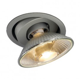 SLV 112854 Twister ES111 75W Silver Grey Downlight