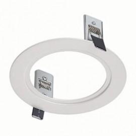 SLV 112971 Twister 1 Frame Round White