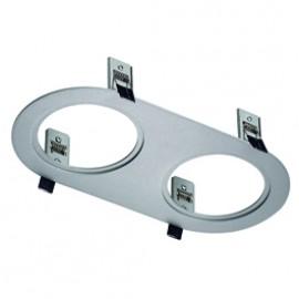 SLV 112980 Twister 2 Frame Round Silver