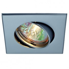 SLV 113208 Square 50W Matt Chrome Downlight