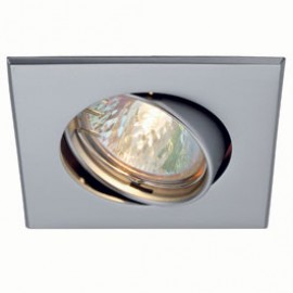 SLV 113209 Square 50W Silver Grey Downlight