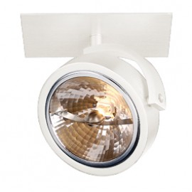 SLV 113401 Kalu Recessed 1 50W White Ceiling & Wall Light