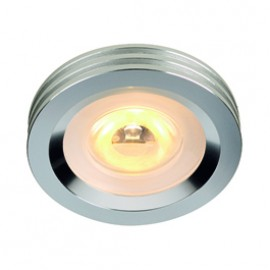 SLV 114802 LED 3W 3000K Aluminium Downlight