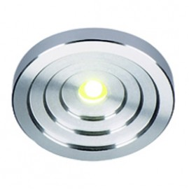 SLV 114832 LED Konkav 1W 3000K Brushed Aluminium Downlight