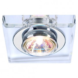 SLV 114920 Crystal 1 35W Chrome Downlight