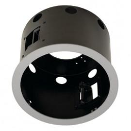 SLV 115604 Aixlight Pro 1 Flat Frame Round Silver Grey & Black