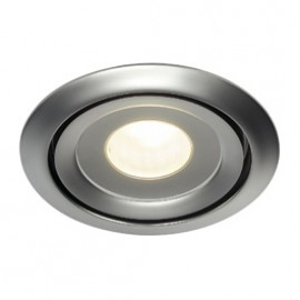 SLV 115808 Luzo LED Disk 12W 2700K Matt Chrome Downlight