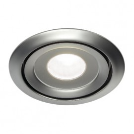SLV 115818 Luzo LED Disk 11W 4000K Matt Chrome Downlight