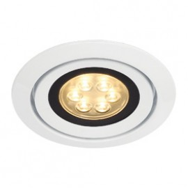 SLV 115821 Luzo Integrated LED 13W 2700K White Downlight