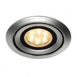 SLV 115828 Luzo Integrated LED 13W 2700K Matt Chrome Downlight