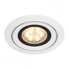 SLV 115831 Luzo Integrated LED 13W 3000K White Downlight