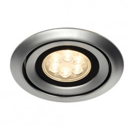 SLV 115838 Luzo Integrated LED 13W 3000K Matt Chrome Downlight