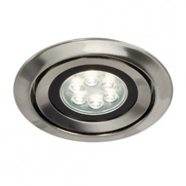 SLV 115845 Luzo Integrated LED 13W 4000K Brushed Metal Downlight