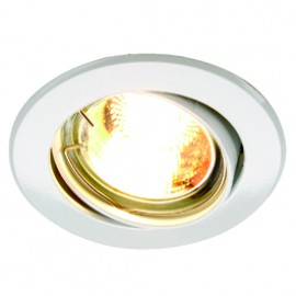 SLV 116101 Turno GU10 50W White Downlight