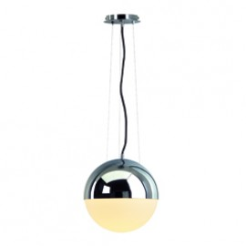 SLV 133562 Big Light Eye 75W Chrome Pendant Ceiling Light