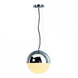 SLV 133562 Big Light Eye 75W Chrome Pendant Ceiling Light