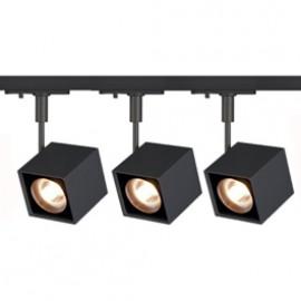 SLV 143350TK3 Altra Dice 50W 3 Light Track Kit Black