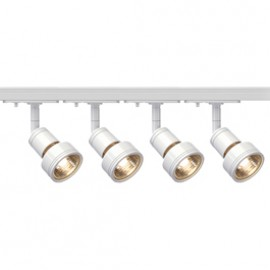 SLV 143391TK4 Puri 50W 4 Light Track Kit White