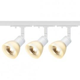 SLV 143451TK3 Puria 50W 3 Light Track Kit White