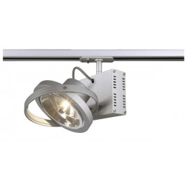 SLV 143512 Tec 1 QRB 50W Silver Grey 1 Circuit 240V Track Light