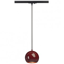 SLV 143626 Light Eye ES111 Pendant 75W 1 Circuit 240v Track Light Wine Red