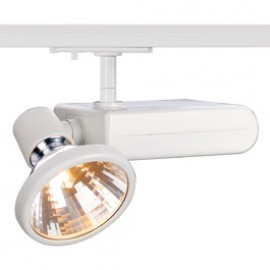 SLV 143871 D-Rection 35W GU6.5 White 1 Circuit 240V Track Light