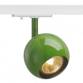 SLV 144015 Light Eye 1 GU10 Spot 50W 1 Circuit 240v Track Light Fern Green