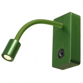 SLV 146705 Pipoflex LED 4W 3000K Green Wall Light
