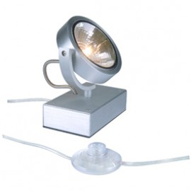 SLV 147286 Kalu Floor 1 50W Brushed Aluminium Light