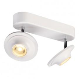 SLV 147801 Lefa 2 LED 2x5W 3000K White Ceiling & Wall Light