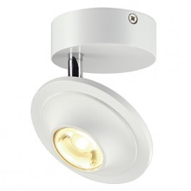 SLV 147811 Lefa 1 LED 5W 3000K White Ceiling & Wall Light