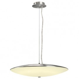 SLV 149365 Elsu 32W Brushed Aluminium Pendant Ceiling Light