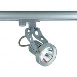 SLV 151017 Aero GU10 50W Silver Grey Eutrac 3 Circuit 240V Track Light