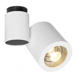 SLV 152111 Enola C Spot 1 LED 9W 3000K White Ceiling & Wall Light