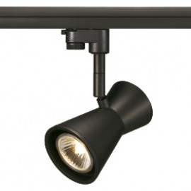 SLV 152250 Diabo 50W Black Eutrac 3 Circuit 240V Track Light