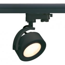 SLV 153590 Kalu Track GX53 9W Black Eutrac 3 Circuit 240V Track Light