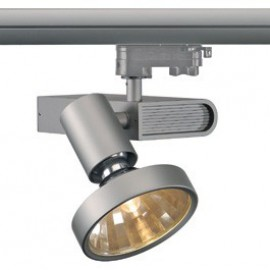 SLV 153654 Sleek Spot G12 70W 24 Degree Silver Grey Eutrac 3 Circuit 240V Track Light