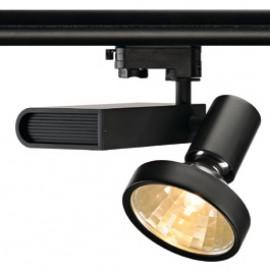 SLV 153660 Sleek Spot G12 70W 48 Degree Black Eutrac 3 Circuit 240V Track Light