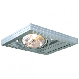 SLV 154262 Aixlight Kardaframe Wall QRB111 50W Silver Grey Light