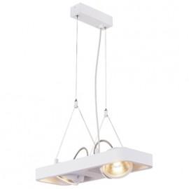 SLV 154901 Lynah LED 2x10W 3000K Pendant Light Matt White