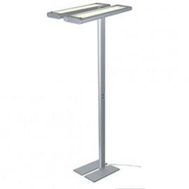 SLV 157152 Work Light Floor 4x55W Silver Grey