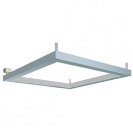 SLV 157384 Open Grill 4x24W Silver Grey Ceiling & Wall Light